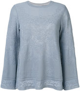 M Missoni floral knitted top