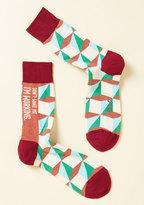 ModCloth Slumber-One Priority Men's Socks