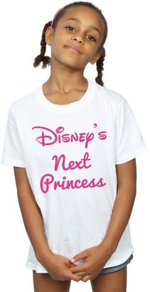 Disney Princess Girls Next Princess T-Shirt 7-8 Years Sport Grey