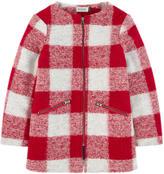 Jean Bourget Curly wool coat