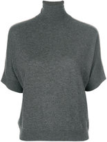 Max Mara Studio short-sleeved knitted top
