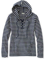 L.L. Bean Nautical Stripe Top, Pullover Hoodie