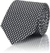 Lanvin Men's Geometric-Print Silk Necktie