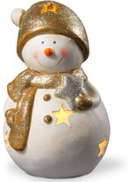 National Tree Co 8i Lighted Holiday Snowman Dcor