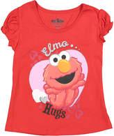 Children's Apparel Network Sesame Street Elmo Red 'Hugs' Tee - Toddler