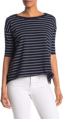 Frank And Eileen Core Striped Half Sleeve T-Shirt