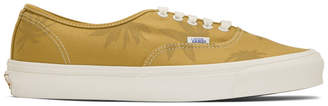 Vans Yellow Island Leaf OG Authentic LX Sneakers