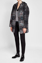 Missoni Printed Wool Coat with Mohair and Alpaca