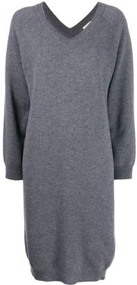 Liska Long-Sleeve Sweater Dress