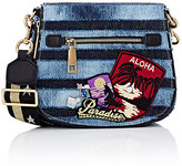Marc Jacobs Women's Nomad Small Saddle Bag-Blue