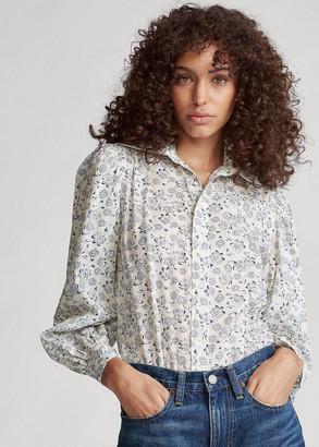 Ralph Lauren Floral Cotton Shirt