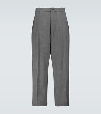 Balenciaga Checked baggy tailored pants