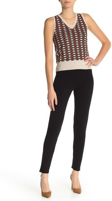 525 America Knit High Waisted Skinny Pants