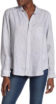 Frank And Eileen Eileen Oversized Casual Linen Button Front Shirt