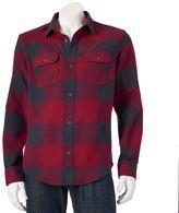 Men's Tony Hawk® Ombre Plaid Shirt Jacket