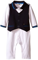 Armani Junior One-Piece with Navy Vest Boy's Jumpsuit & Rompers One Piece