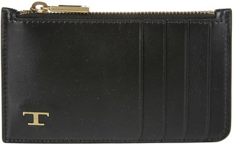 Tod's Tods Black Leather Cardholder