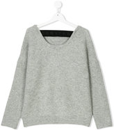 DKNY Teen ribbed loose fit jumper