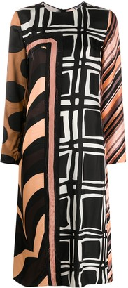 Marni Geometric Print Dress