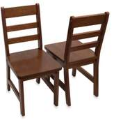 Lipper Child's Chairs in Walnut (Set of 2)