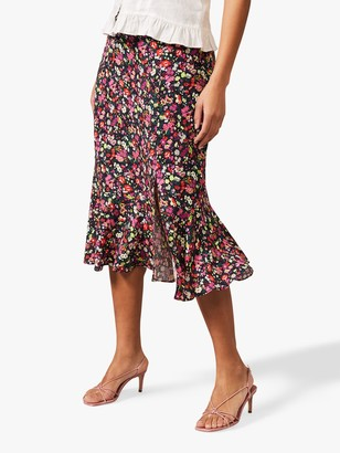 Phase Eight Libertine Floral Midi Skirt, Multi