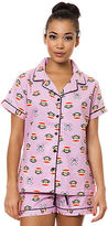 Paul Frank The Julius X Skurvy Flannel PJ Set