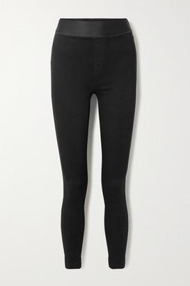 J Brand Dellah High-rise Skinny Jeans - Black