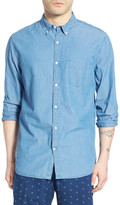 Lucky Brand White Label Washed Woven Shirt