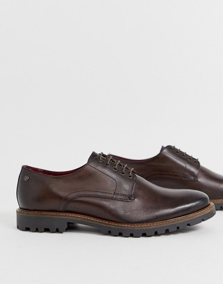 Base London Hogan lace ups in brown
