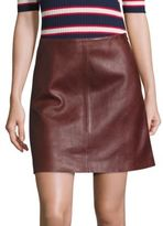 SET Leather Mini Skirt