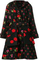 Simone Rocha floral coat