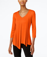 Cable & Gauge Asymmetrical-Hem Top