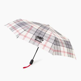 Roots Smoke Lake Plaid Umbrella