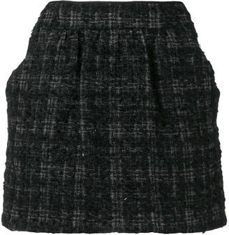 Prada Pre-Owned 1990's checked mini skirt