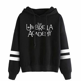 hhalibaba 2020 The Umbrella Academy Hoodie Sweatshirts Women Print Pullover Unisex Harajuku Tracksui Black