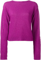 Thierry Mugler cropped jumper