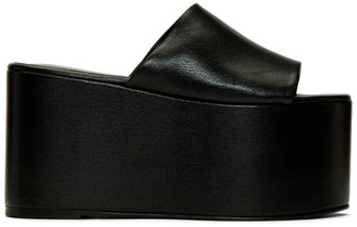 Simon Miller Black Blackout Platform Sandals