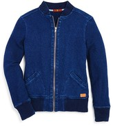 7 For All Mankind Boys' Terry Bomber Jacket - Sizes 4-7