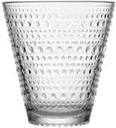 Iittala Kastehelmi 10 Oz Tumbler or Glass, Set of 2 By clear) by