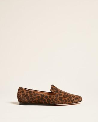 Veronica Beard Griffin Leopard Loafer