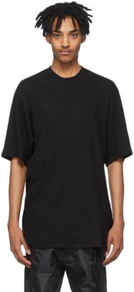 Julius Black Crepe Noil T-Shirt