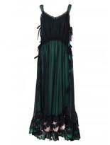Marco De Vincenzo Black midi dress