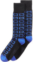 Alfani Men's Geo Chain Socks, Created for Macy's