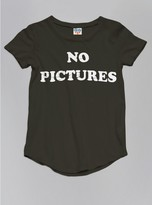 Junk Food Clothing Kids Girls No Pictures Tee-black Wash-l