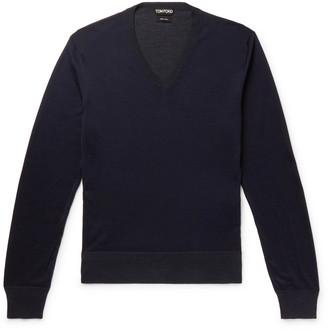 Tom Ford Slim-Fit Silk Sweater