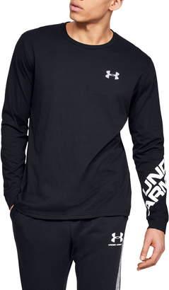 Under Armour UA Wordmark Long Sleeve Performance T-Shirt