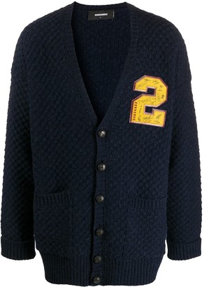 DSQUARED2 Oversized 2 Patch Cardigan