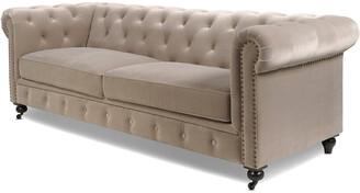 Jennifer Taylor Winston Tufted Chesterfield Sofa