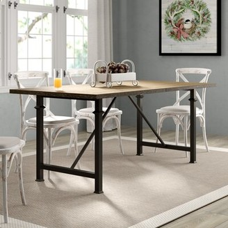 Laurèl Rubino Dining Table Foundry Modern Farmhouse