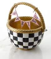 Mackenzie Childs MacKenzie-Childs Courtly Check Large Basket